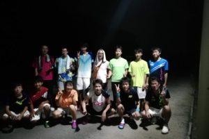 2019/08/12(月祝) ソフトテニス プチ大会・オープン