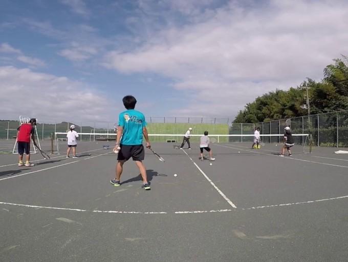 2019/10/05(土) ソフトテニス・未経験者練習会
