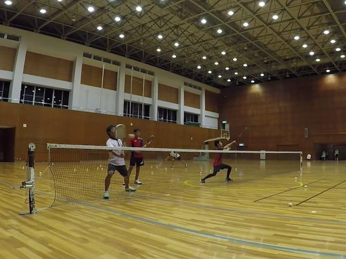 2019/10/07(月) ソフトテニス練習会@滋賀県