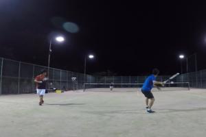 2019/09/06(金) ソフトテニス練習会@滋賀県