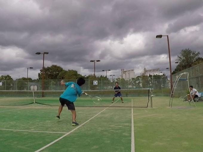 2019/09/23(日) ソフトテニス練習会(急遽)@滋賀県