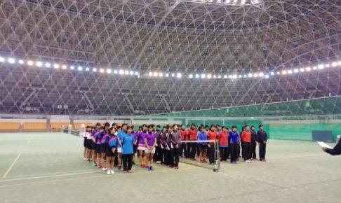 滋賀県高校ソフトテニス秋季選手権2019