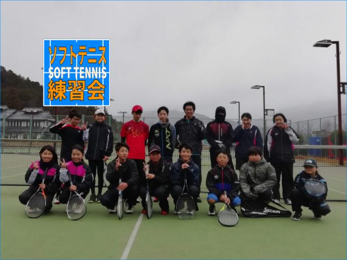 2019/12/31(火) ソフトテニス・年末練習会@滋賀県