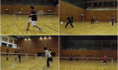 2020/01/21(火) ソフトテニス練習会@滋賀県
