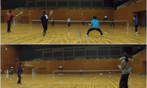 2020/01/27(月) ソフトテニス練習会@滋賀県