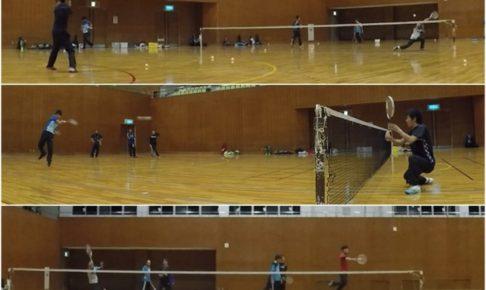 2020/01/28(火) ソフトテニス練習会@滋賀県