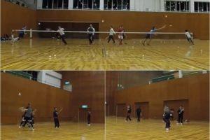 2020/01/14(火) ソフトテニス練習会@滋賀県
