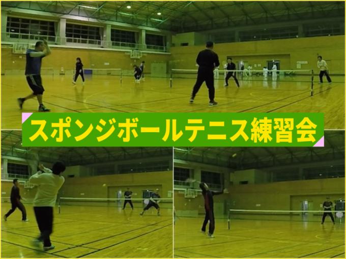 2020/01/08(水) スポンジボールテニス@滋賀県