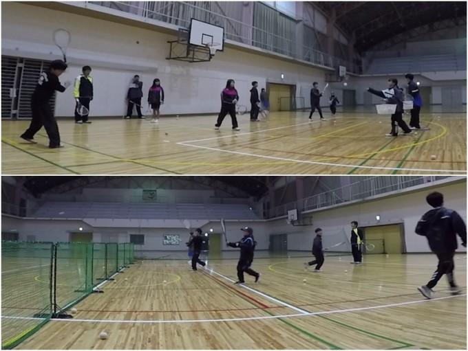 2020/01/18(土) ソフトテニス・初級者練習会@滋賀県