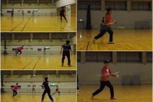 2020/02/21(金) ソフトテニス・平日練習会@滋賀県