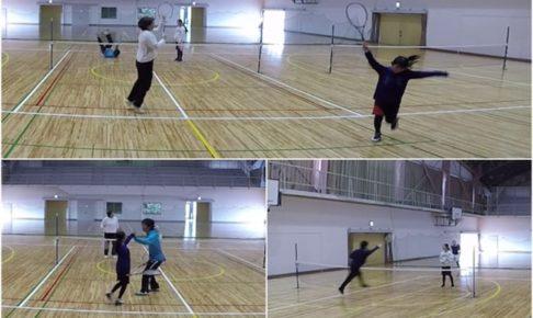 2020/02/08(土) ソフトテニス・未経験者練習会@滋賀県