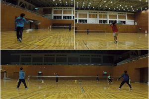 2020/02/03(月) ソフトテニス練習会@滋賀県