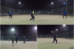 2020/02/14(金) ソフトテニス練習会@滋賀県