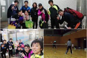 2020/02/15(土)急遽・ソフトテニス練習会@滋賀県