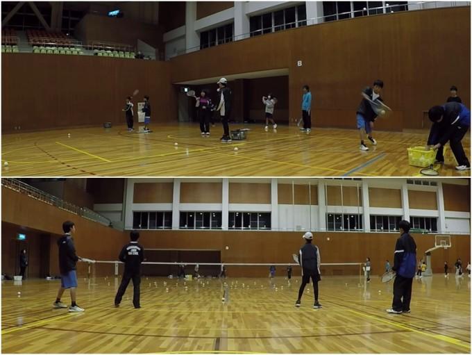 2020/02/22(土) ソフトテニス・初級者練習会@滋賀県