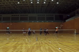 2020/03/09(月) ソフトテニス練習会@滋賀県
