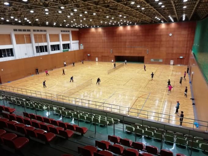 滋賀県近江八幡市 運動公園・体育館 テニスコート