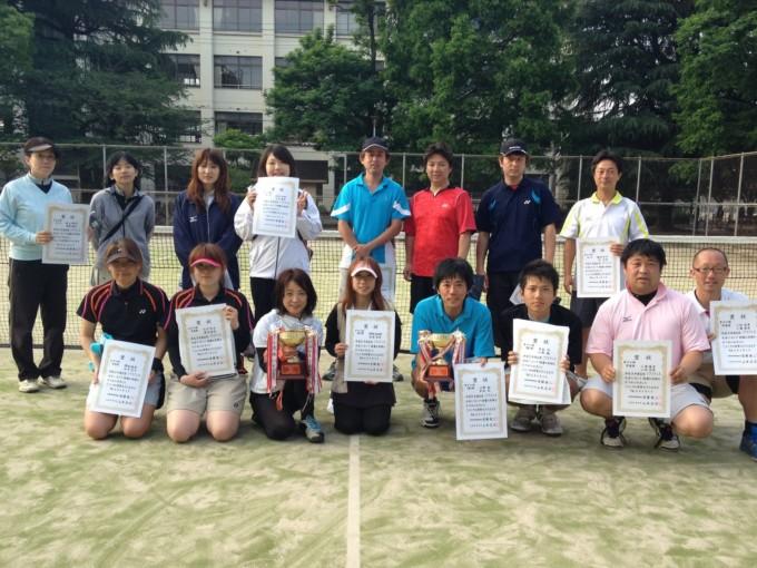 大阪府大阪市旭区ソフトテニス2012