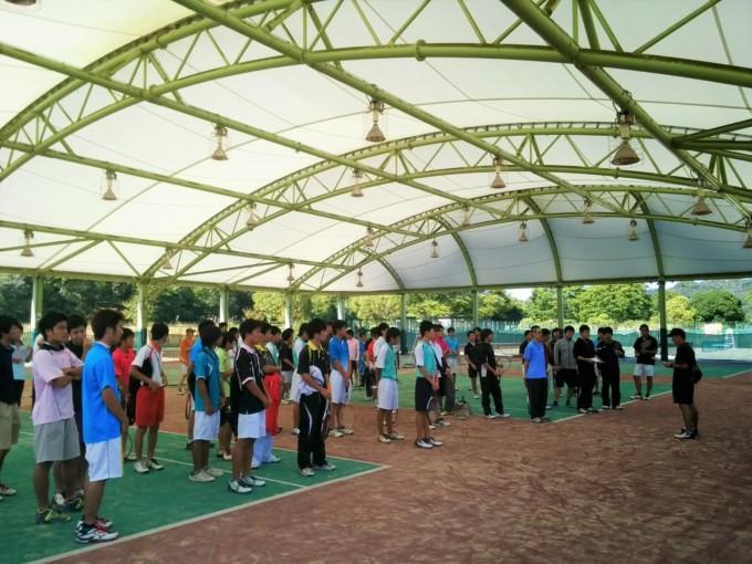 滋賀県高校OBOGソフトテニス交流対抗戦2014