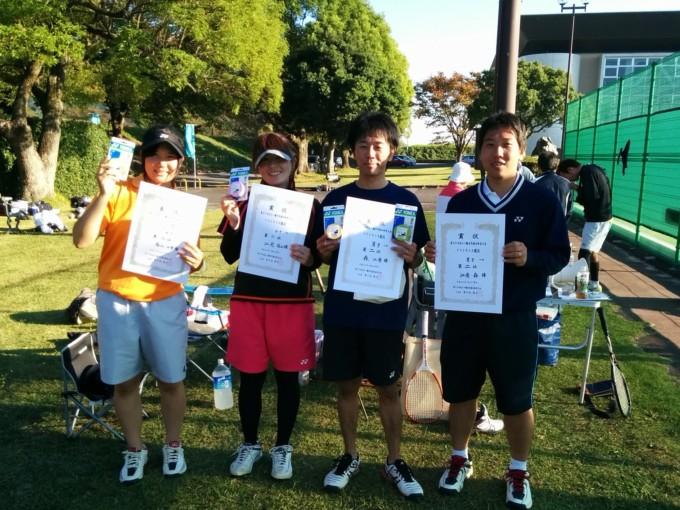滋賀県近江八幡市ソフトテニス秋季大会2014