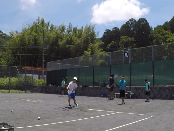 2020/06/20(土) ソフトテニス・未経験者練習会
