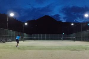 2020/07/18(土) ソフトテニス・初級者練習会