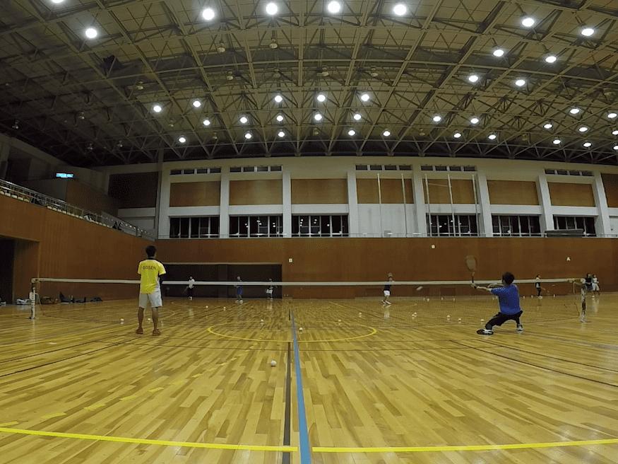 2019/10/15(火) ソフトテニス練習会@滋賀県近江八幡市