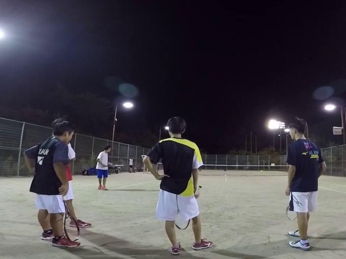 2019/09/13(金) ソフトテニス練習会@滋賀県