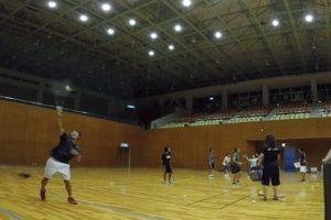 2019/09/17(火) ソフトテニス練習会@滋賀県