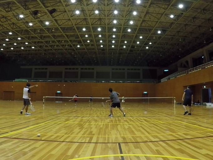 2019/09/24(火) ソフトテニス練習会@滋賀県