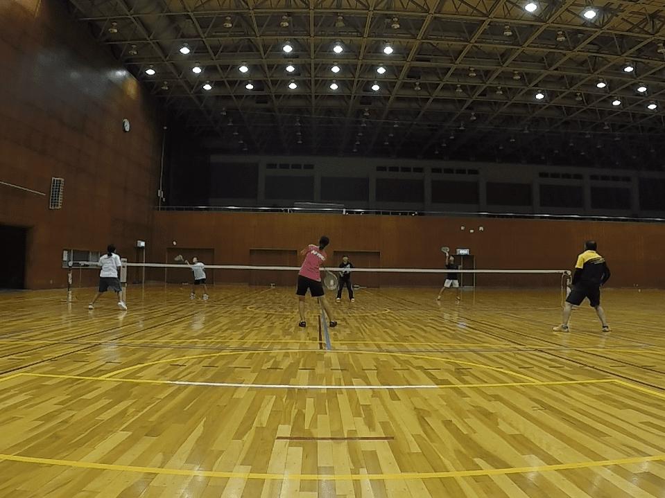 2019/10/01(火) ソフトテニス練習会@滋賀県