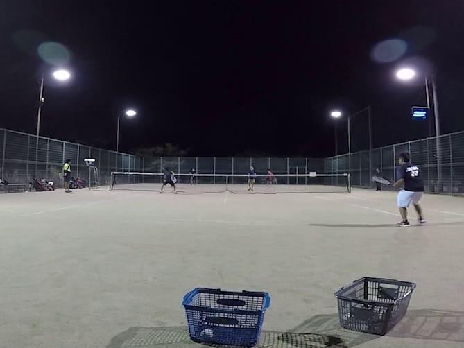 2019/10/04(金) ソフトテニス練習会@滋賀県