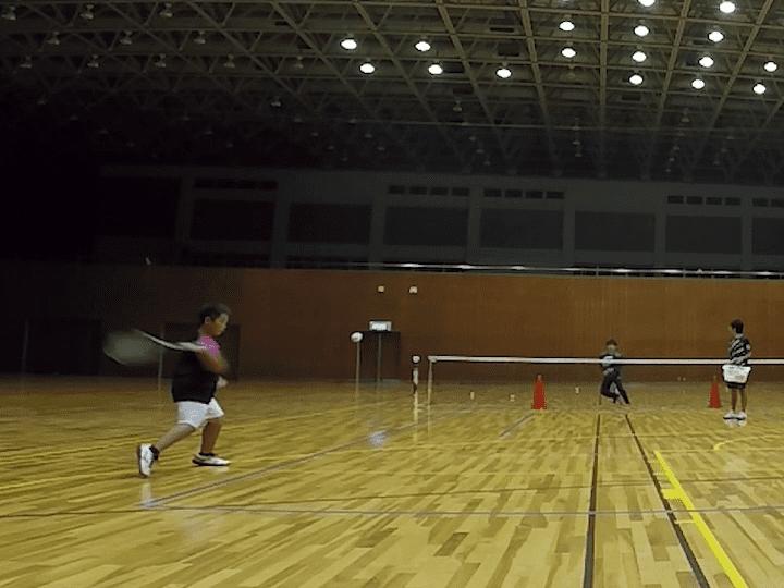 2019/10/21(月) ソフトテニス練習会@滋賀県