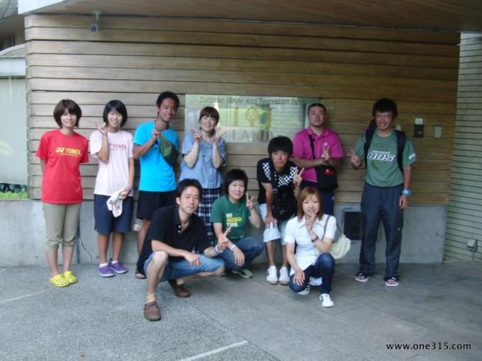 第一回ソフトテニつ部・夏合宿2012@大阪 ソフトテニス
