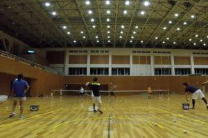 2019/08/26(月) ソフトテニス練習会@滋賀県