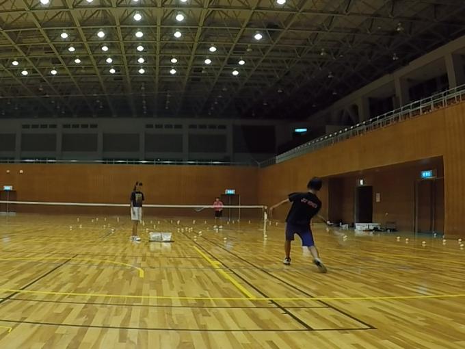 2019/09/09(月) ソフトテニス練習会@滋賀県