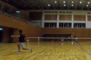 2019/09/10(火) ソフトテニス練習会@滋賀県