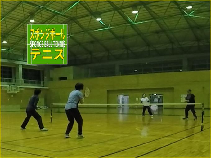 2019/11/27(水) スポンジボールテニス@滋賀県v