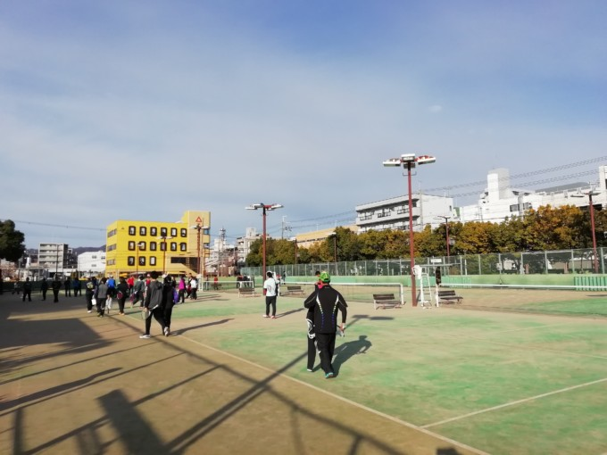 京都府西院公園テニスコート