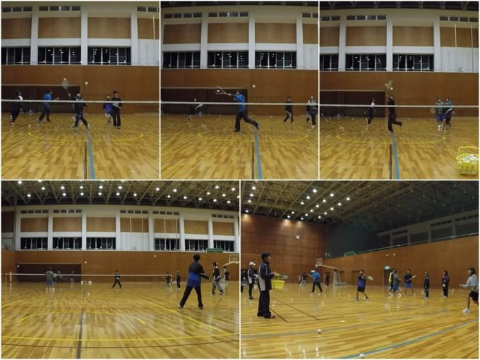 2020/01/25(土) ソフトテニス・初級者練習会@滋賀県