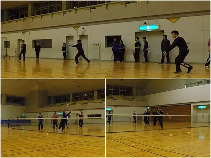2020/01/31(金) ソフトテニス練習会@滋賀県