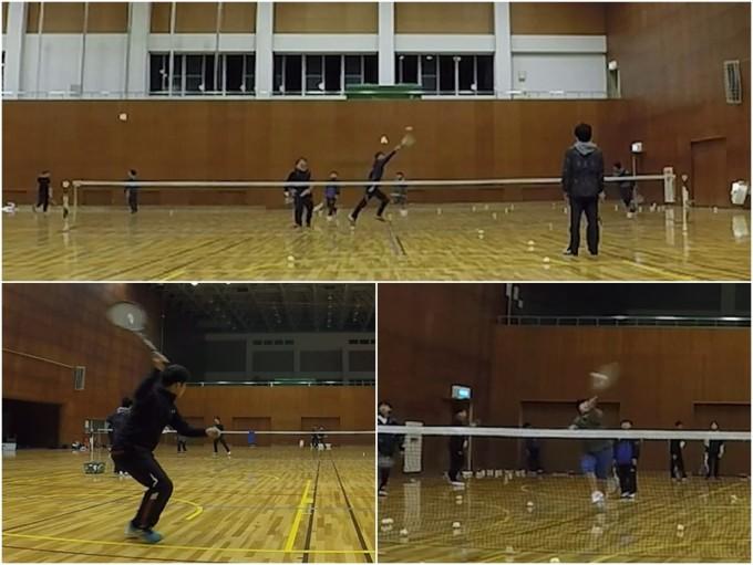 2020/02/07(金) ソフトテニス練習会@滋賀県