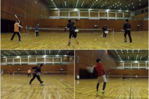 2020/02/18(火) ソフトテニス練習会@滋賀県