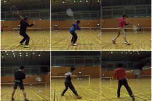 2020/02/25(火) ソフトテニス練習会@滋賀県