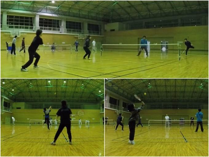 2020/02/26(水) スポンジボールテニス@滋賀県 ショートテニス