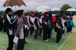 滋賀県野洲市ソフトテニス大会・春の個人戦2014