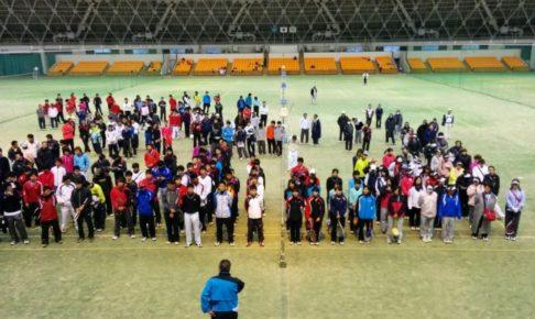 滋賀県ソフトテニス 滋賀県インドア選手権2014