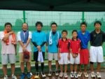 滋賀県近江八幡市ソフトテニス夏季・奥井杯2014