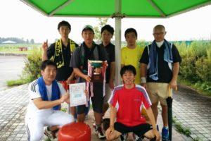 滋賀県野洲市ソフトテニス夏季大会2014