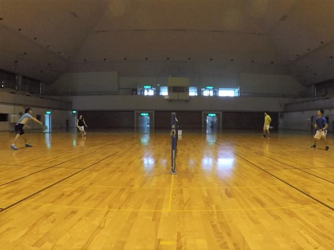 2020/06/16(火) ソフトテニス・平日練習会